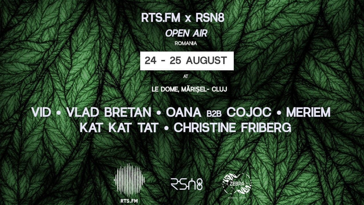 RTS.FM x RSN8 Open Air at Le Dome, RO