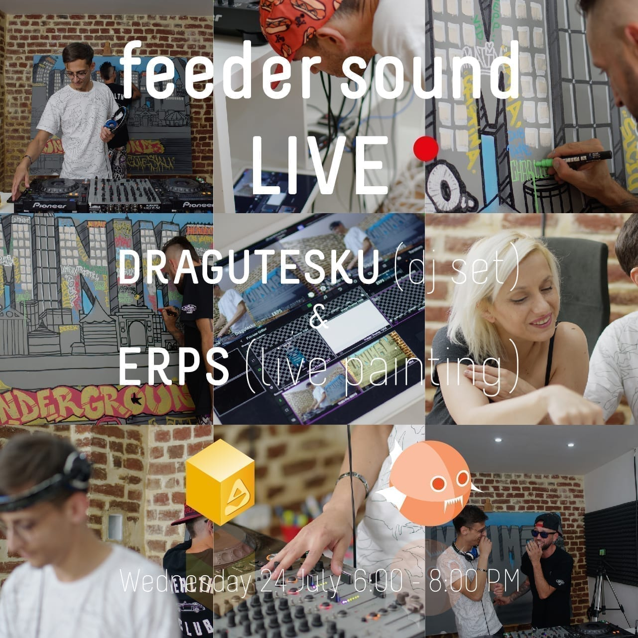 BTLT feeder sound live Dragutesku & ERPS