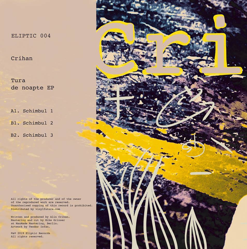 Crihan - Tura De Noapte EP [Eliptic] back