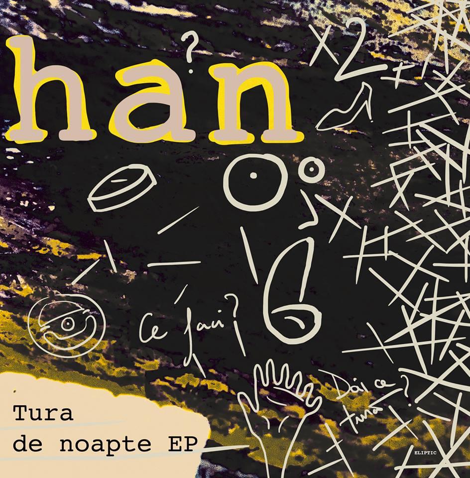 Crihan - Tura De Noapte EP [Eliptic] front