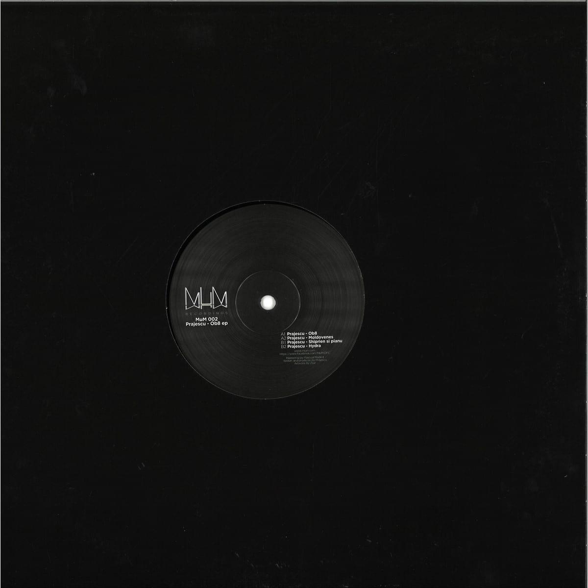 Pra Jescu - Ob8 EP [MUM Recordings] back