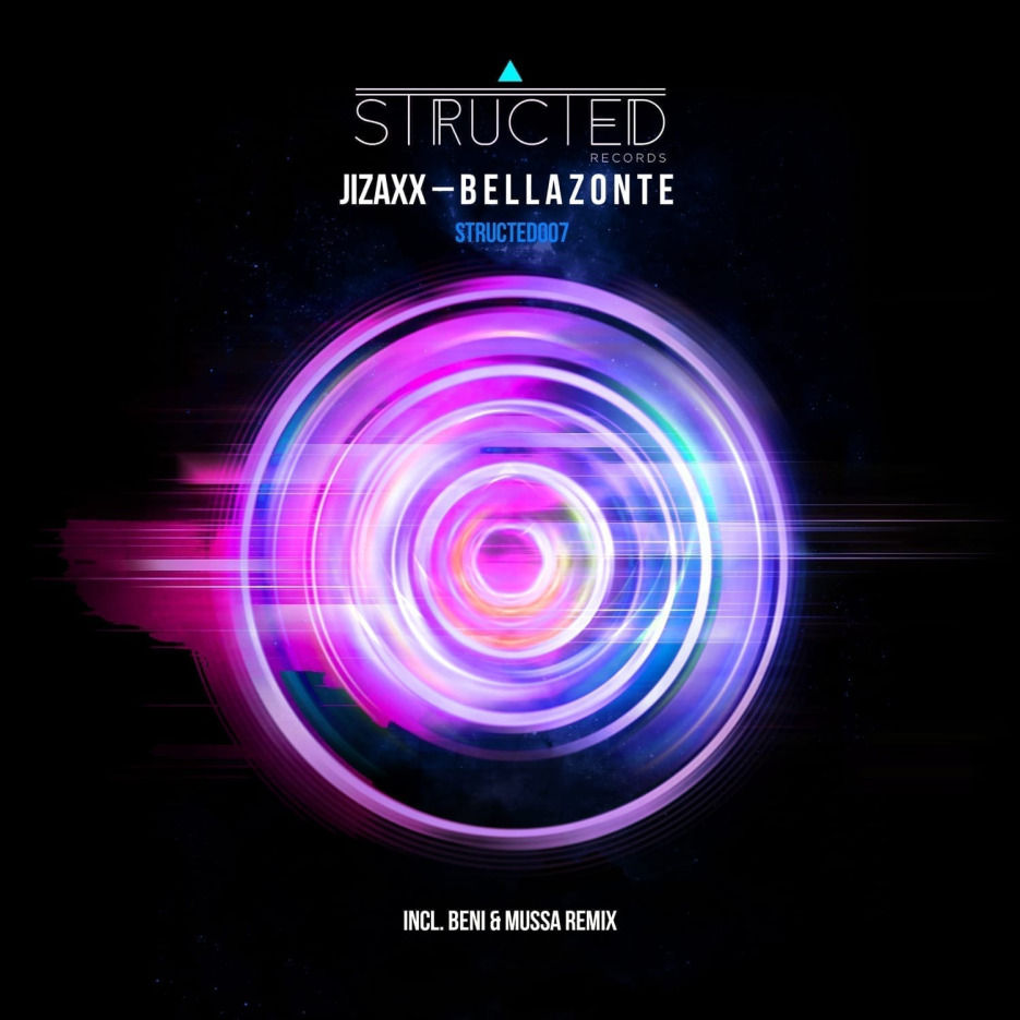 """Jizaxx continues to deliver great quality tracks on Structed Records with """"Bellazonte"""""""