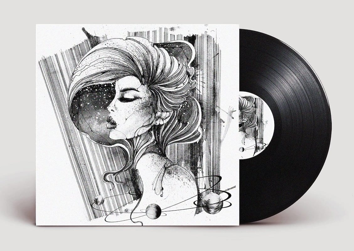 UHR interview with Juli Jah Vinyl cover