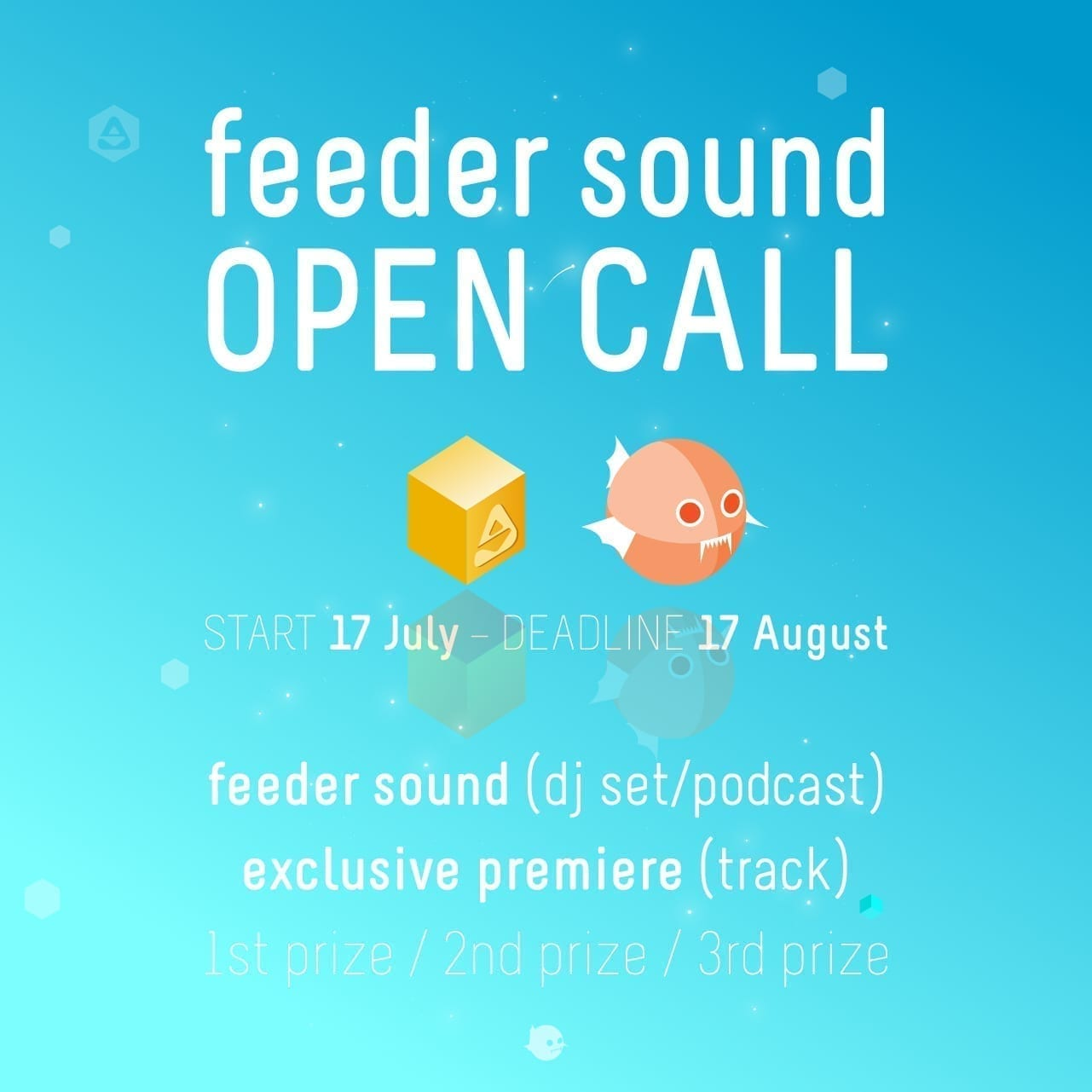 Join the feeder sound OPEN CALL for DJs and producers