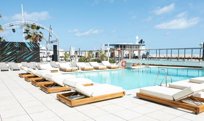 FACT announce full lineups for Sonar pool party series at the new Go Beach Club Barcelona