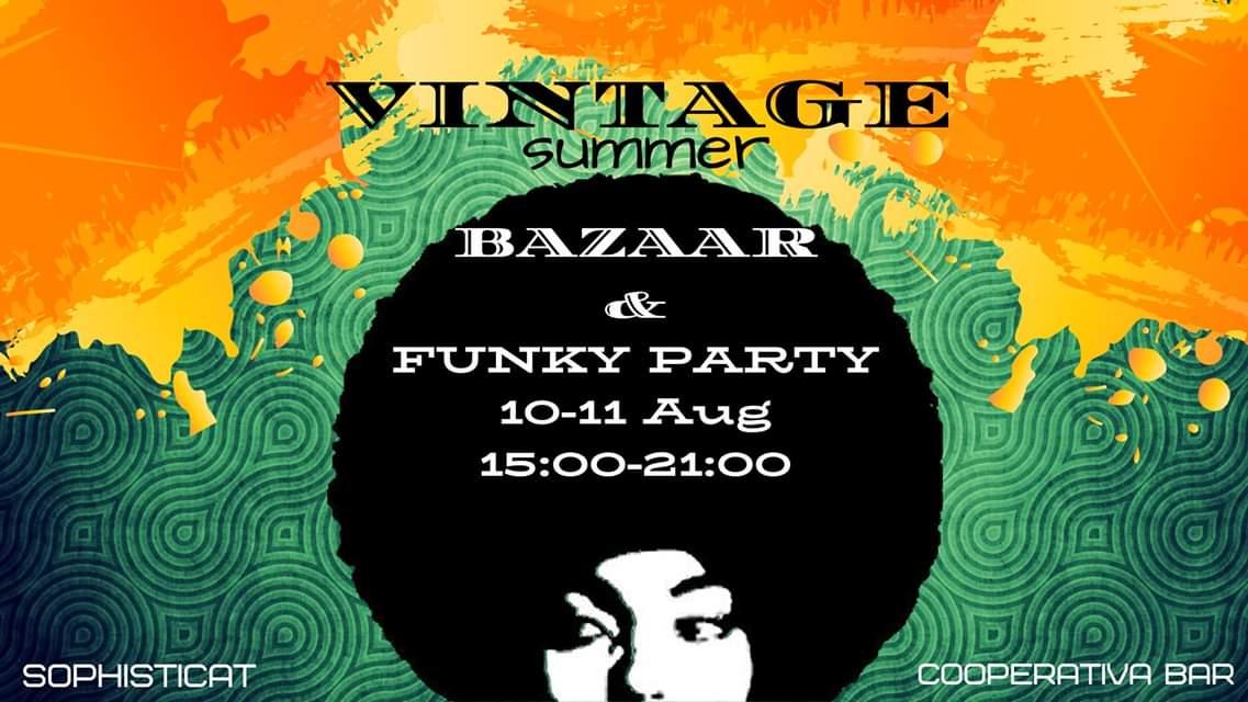 Sophisticat Bazaar & Funky Party @ CooPeRATivA