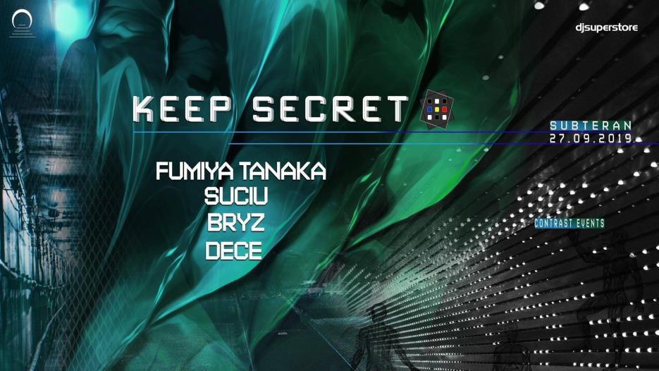 Keep secret w. Fumiya Tanaka x Suciu x Bryz x Dece.