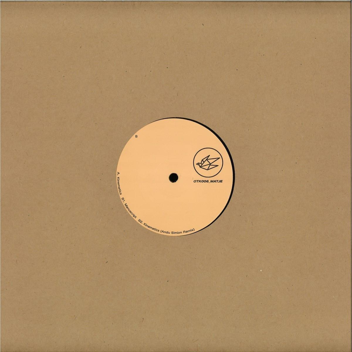Matje - OTK006 [Otaku Records] back