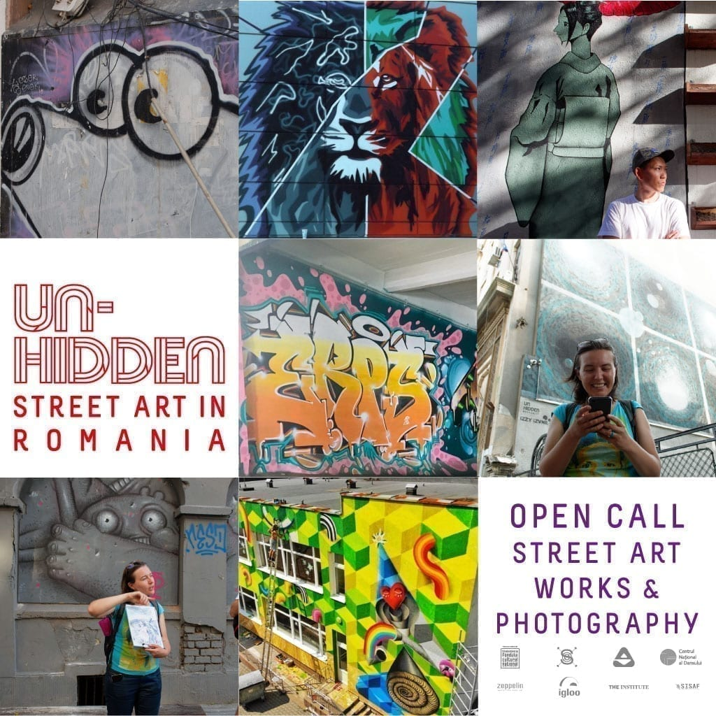Un-hidden Street Art in Romania - about the future book and an Open Call for Street Art Photography