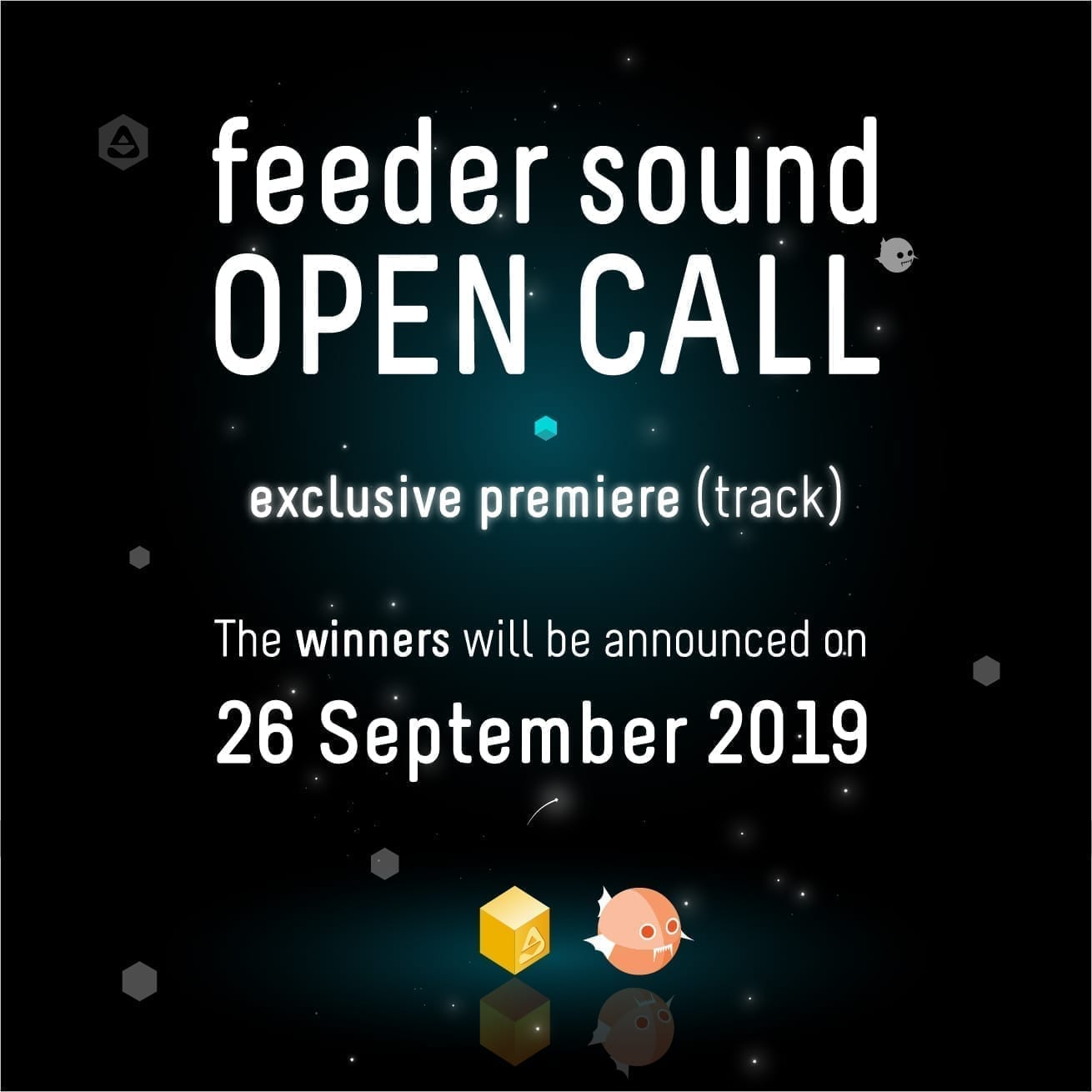 Listen to the applications received in the feeder sound OPEN CALL for producers