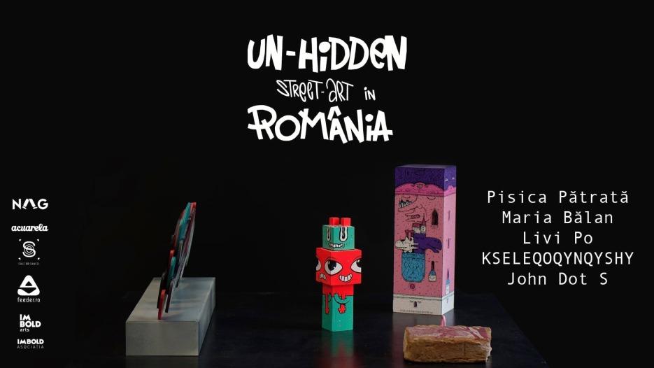 Descoperă expoziția Un-hidden Romania x Acuarela | NAG edition
