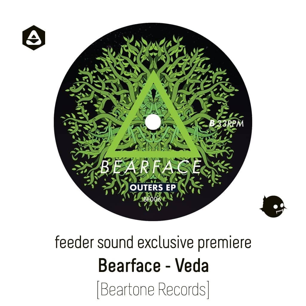 feeder sound exclusive premiere: Bearface - Veda [Beartone Records] article-cover
