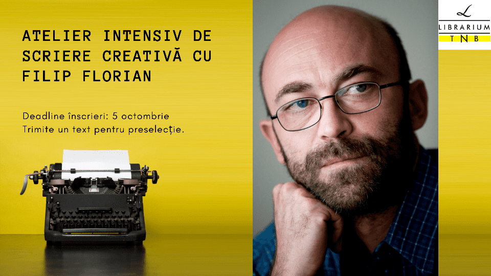 Creative writing workshop w/ Filip Florian @ Librarium TNB