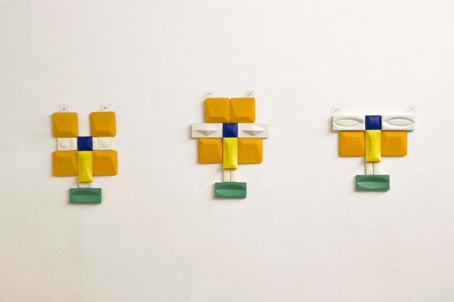 Ivan Gallery Tiles and Tiles Roberta Curcă solo show