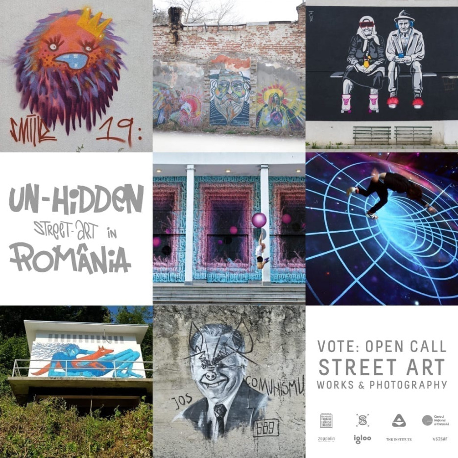VOTE: Un-hidden Street Art in Romania - Open Call for Street Art Photography Entries