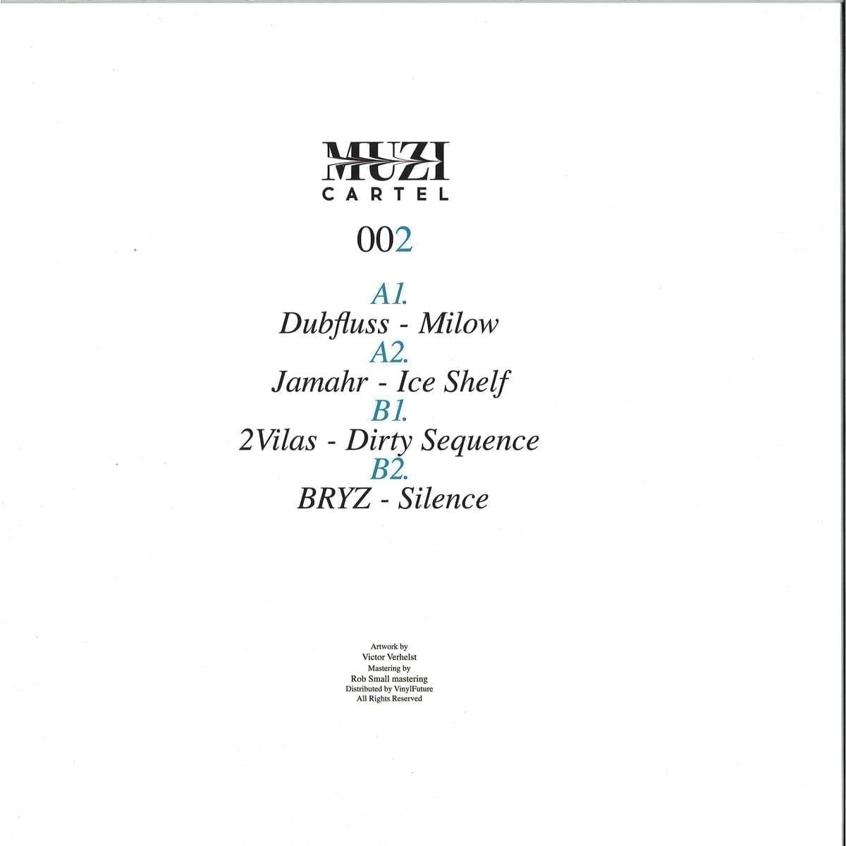 Various Artists - MUZI cartel 002 [MUZI cartel] back