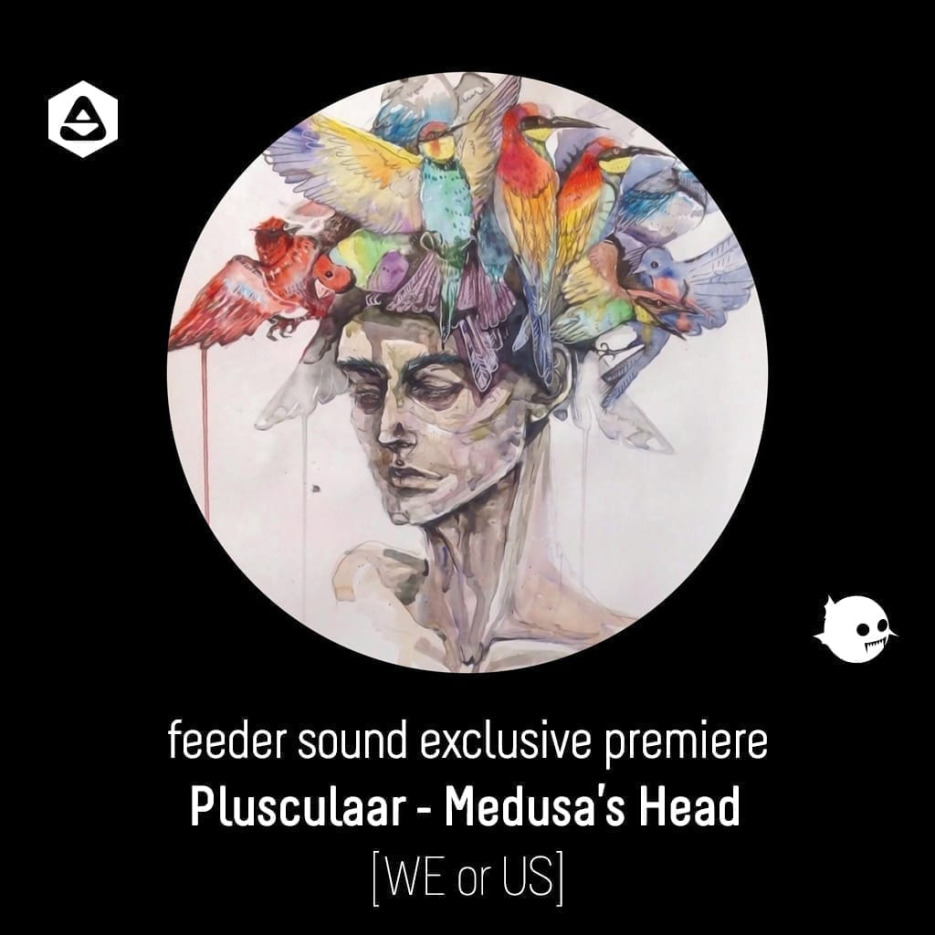 feeder sound exclusive premiere: Plusculaar - Medusa's Head [WE or US] article