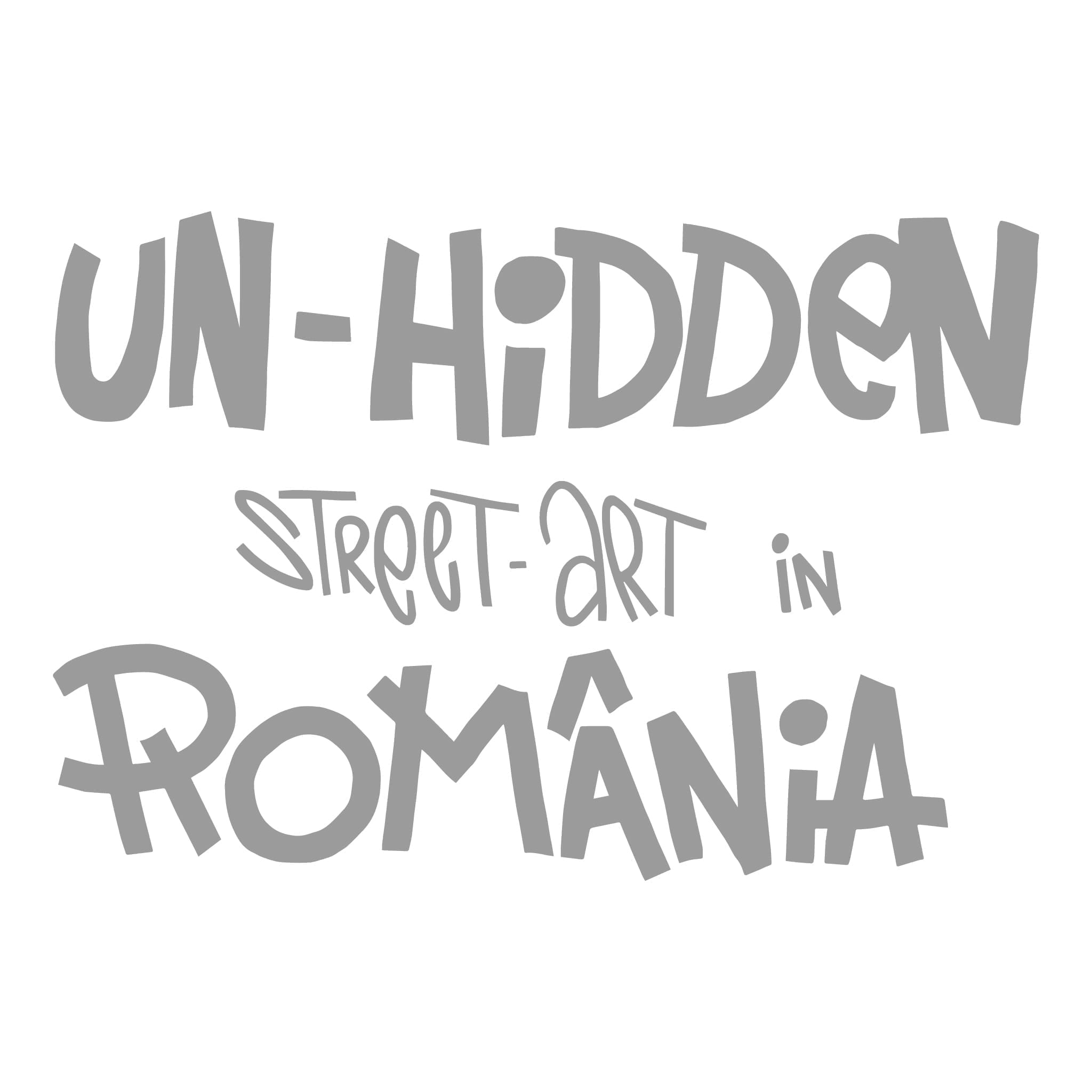 Un-hidden Street Art in Romania logo