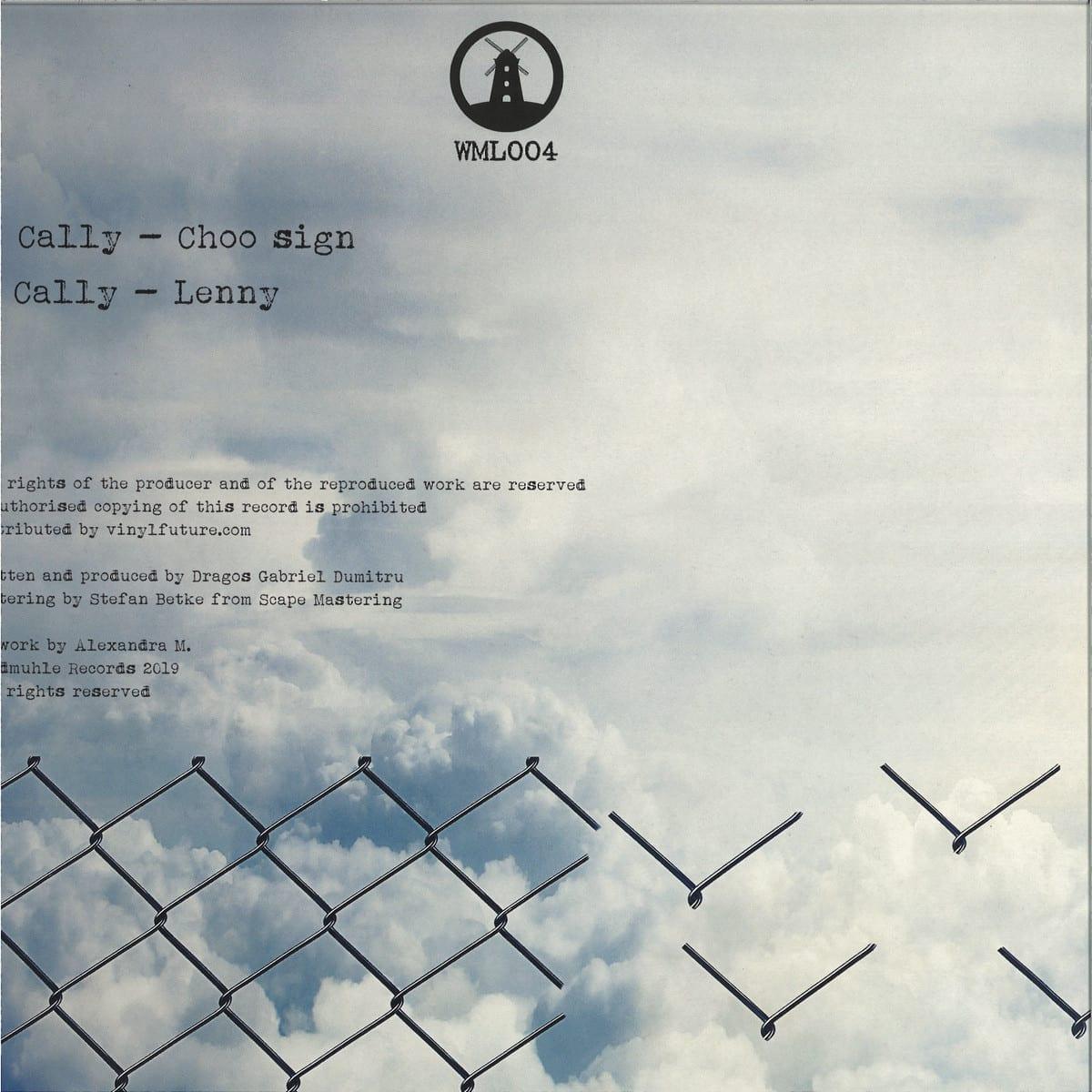 Cally - Cho Sing EP [Windmuhle] back