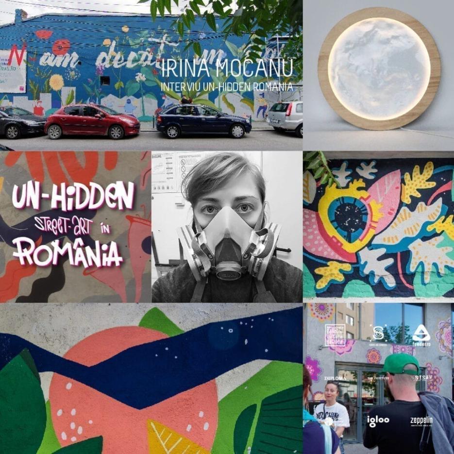 Irina Mocanu interviu Un-hidden Street Art in Romania