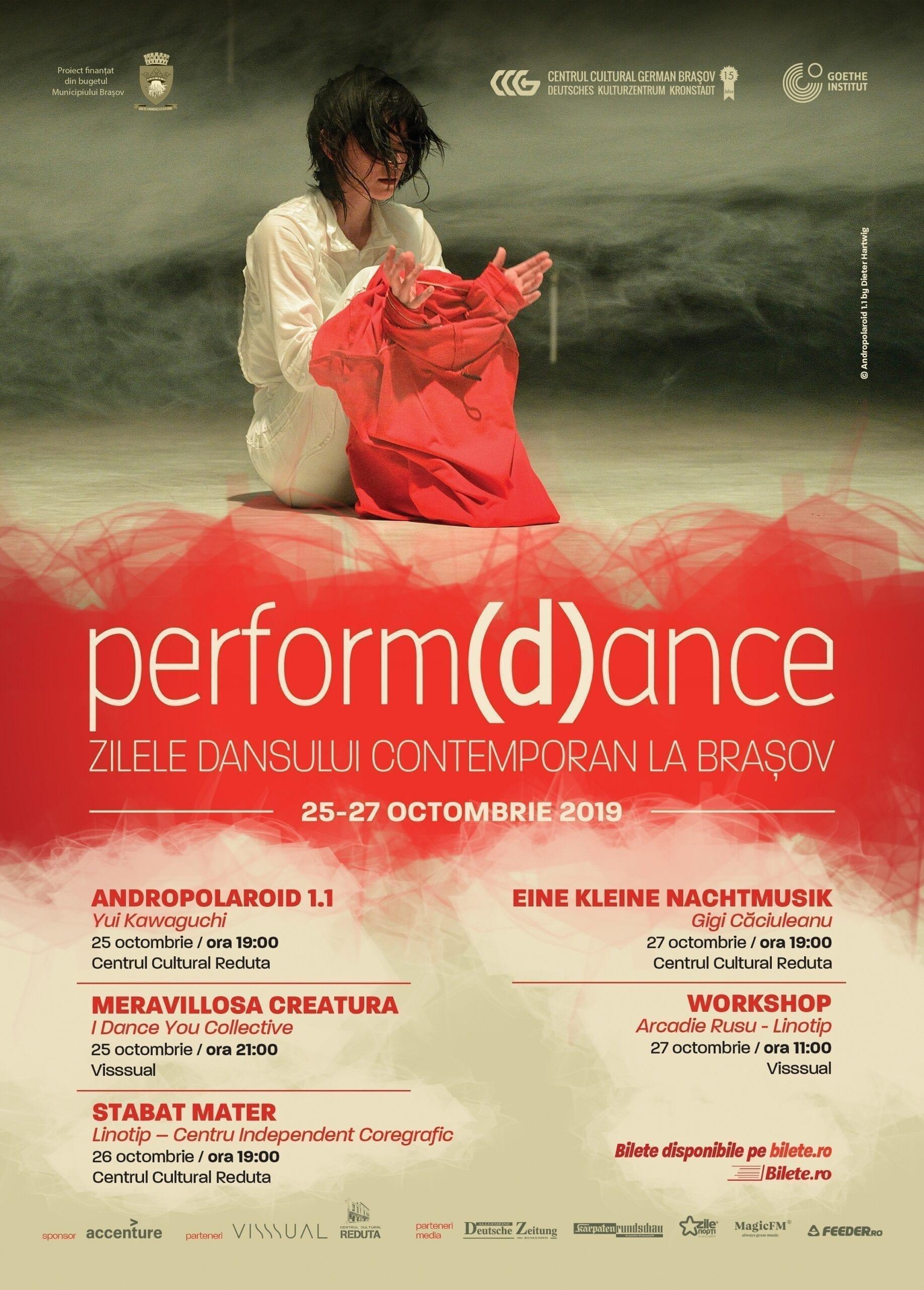 Perform(d)ance – Zilele dansului contemporan la Brașov, ediția a 3-a
