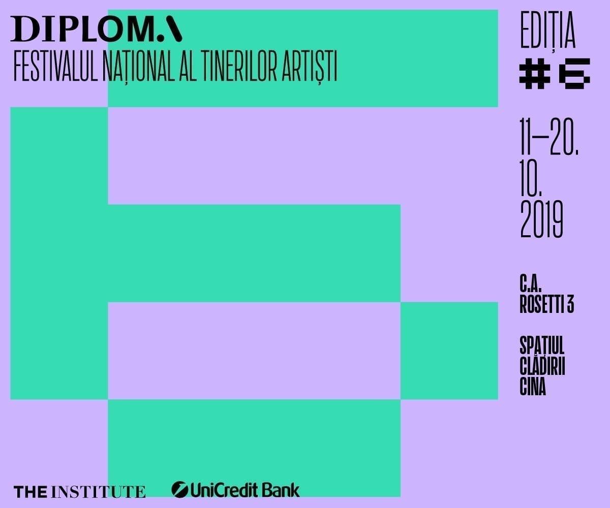 Programul Festivalului DIPLOMA 2019