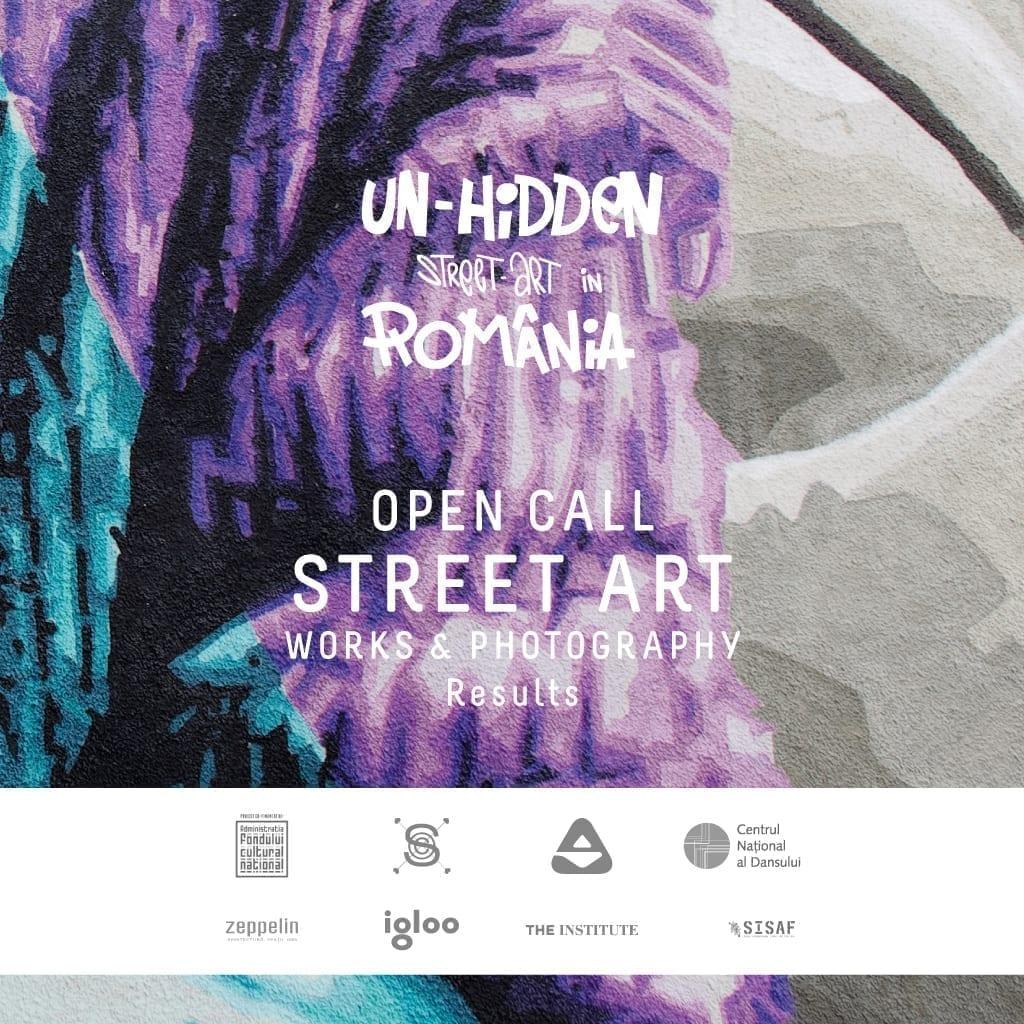 Un-hidden Street Art in Romania - Open Call for Street Art Photography Results