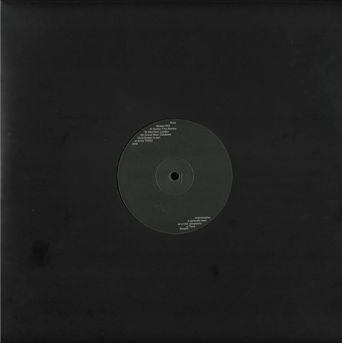 Various - Third Stream 003 [Third Stream] back