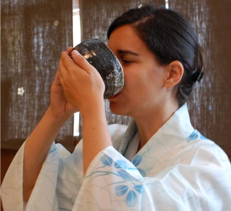 degustare ceai verde