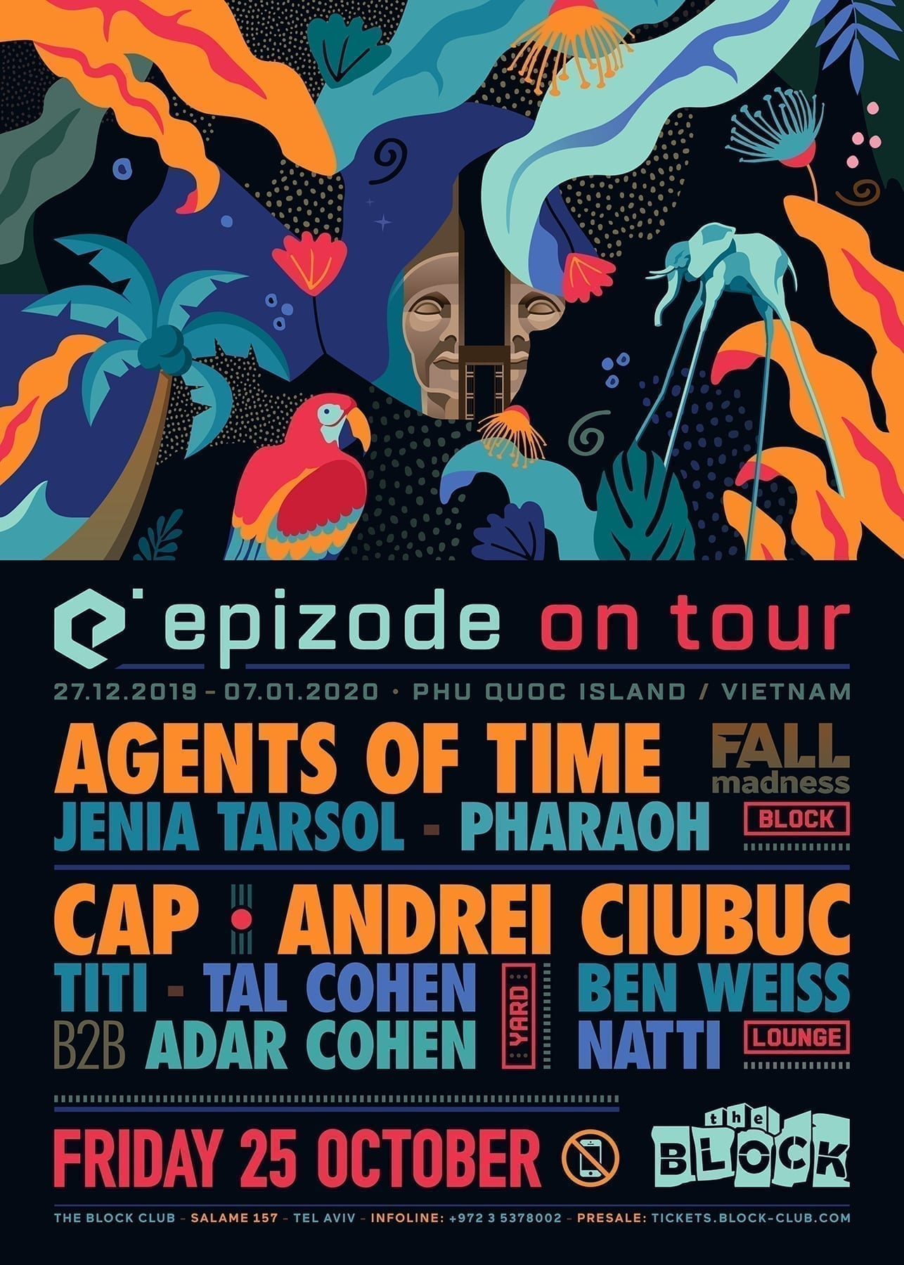 Epizode On Tour - Agents Of Time, Andrei Ciubuc, Cap