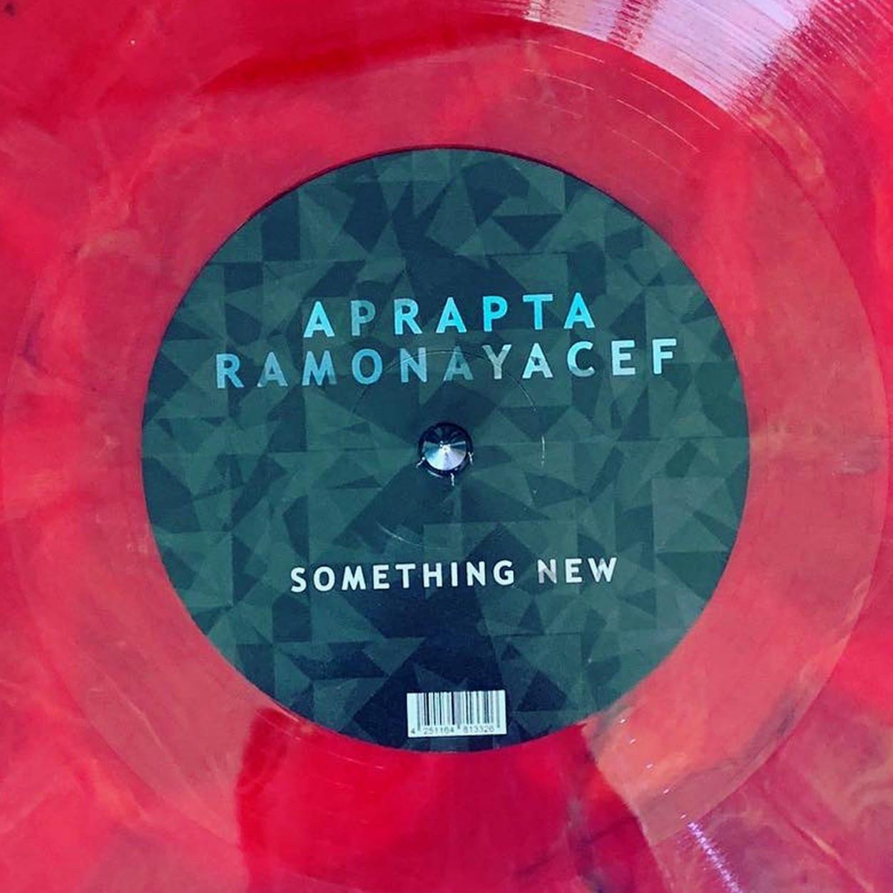 Aprapta and Ramona Yacef - Something New - cover edit