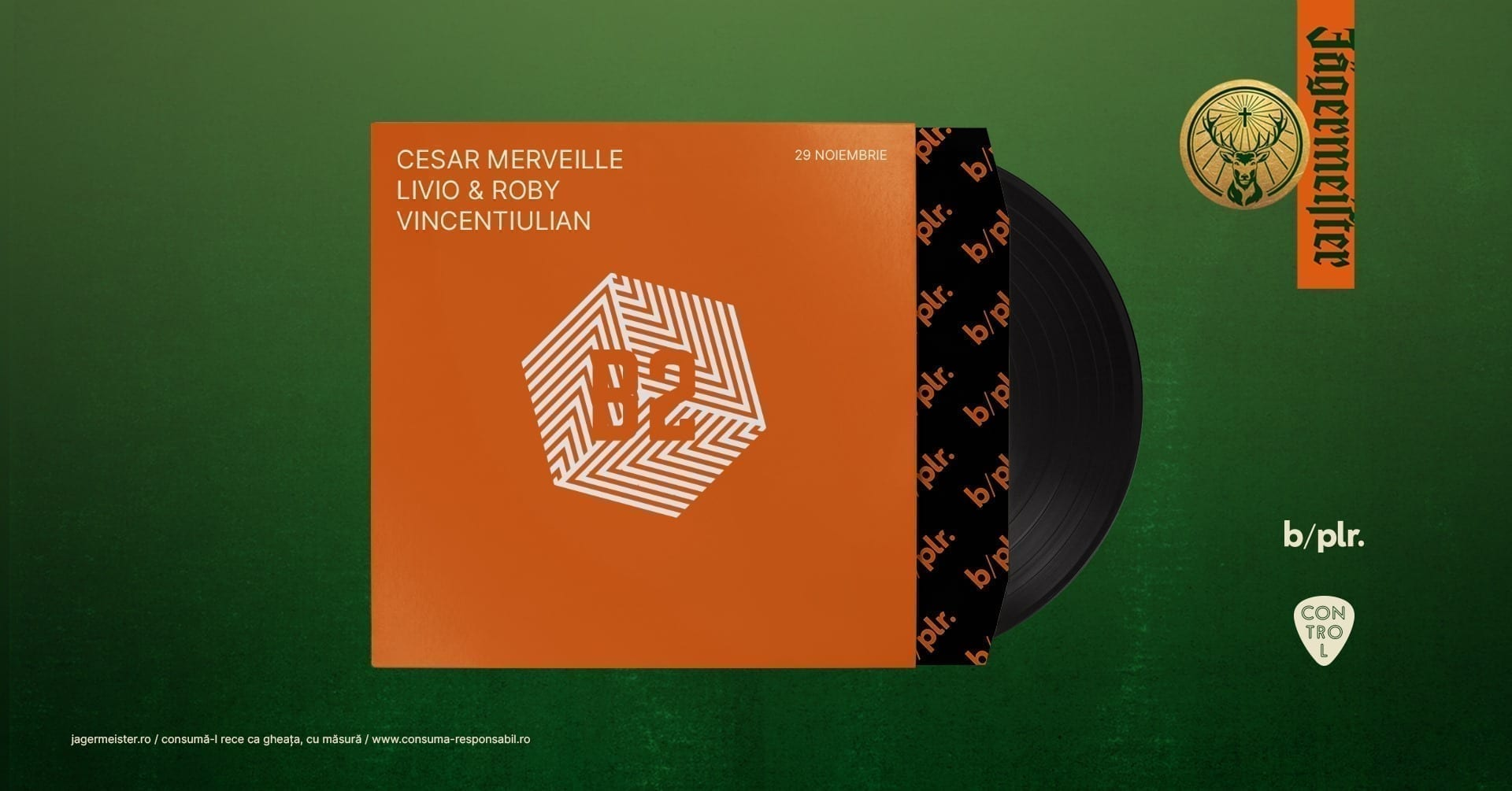 B:plr. Friday - Cesar Merveille, Livio & Roby, Vincentiulian