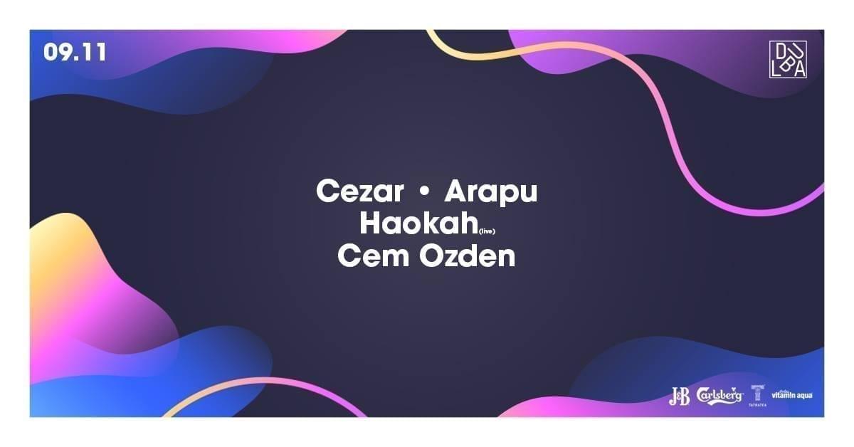 Dubla: Cezar : Arapu : Haokah (live) : Cem Ozden