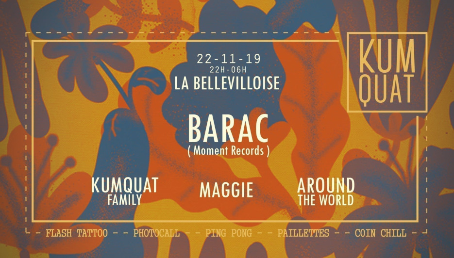 Kumquat w: Barac, Around the World, Maggie, Jem