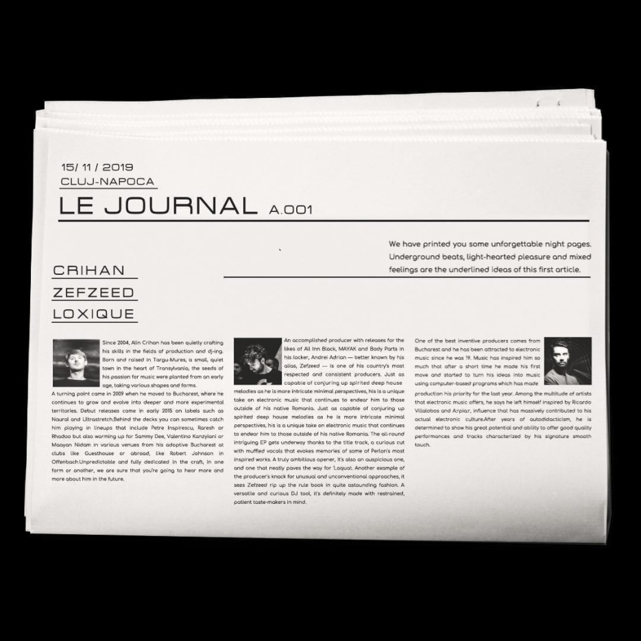 Le Journal Crihan, Zefzeed, Loxique