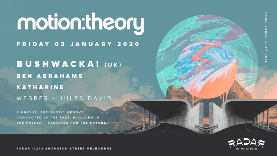 Motion Theory Music Motion Theory with Bushwacka and Friends