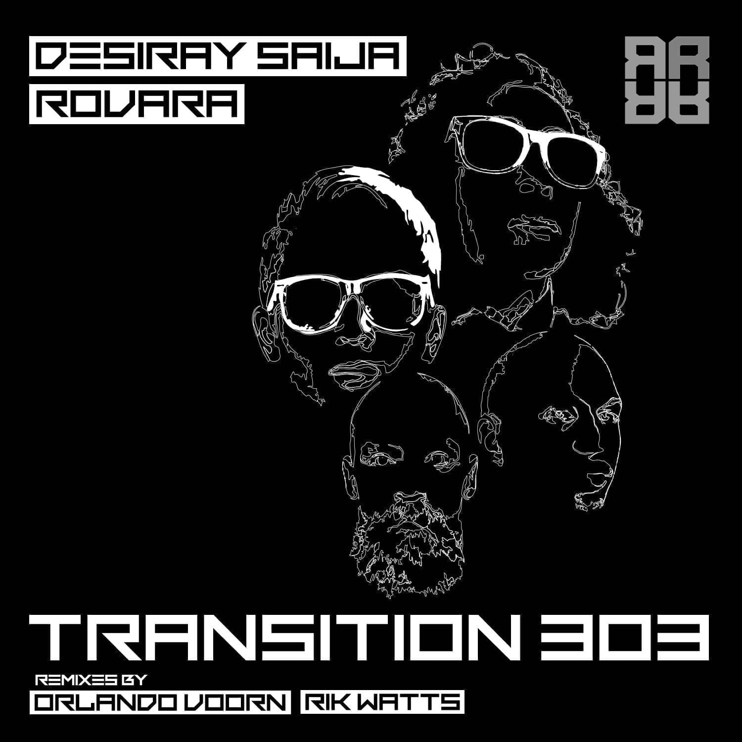 Repressure announces Desiray Saija and Rovara's 'TRANSITION 303' with remixes by Orlando Voorn and Rik Watts