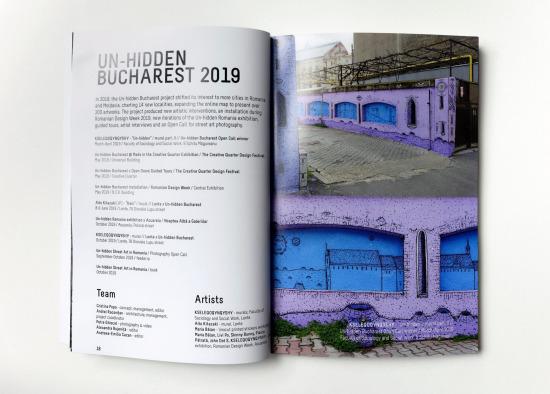 Un-hidden Street Art in Romania book