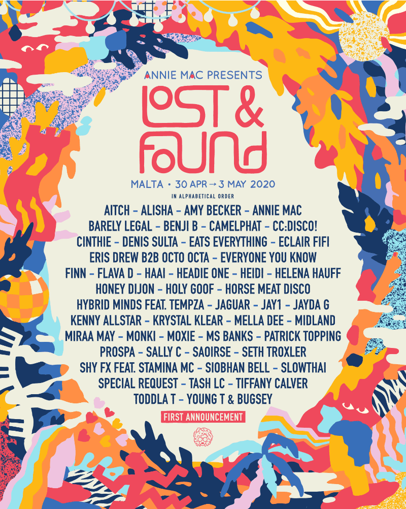 Annie Mac Lost & Found Festival: Patrick Topping, Slowthai, Honey Dijon, Aitch, Camelphat, Seth Troxler, Helena Hauff, Denis Sulta And Ms Banks
