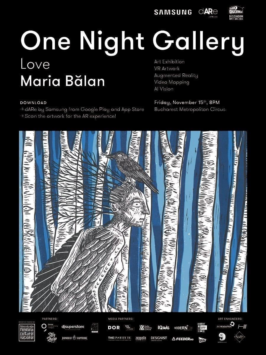 One Night Gallery Love Maria Balan @ Circul Metropolitan Bucuresti