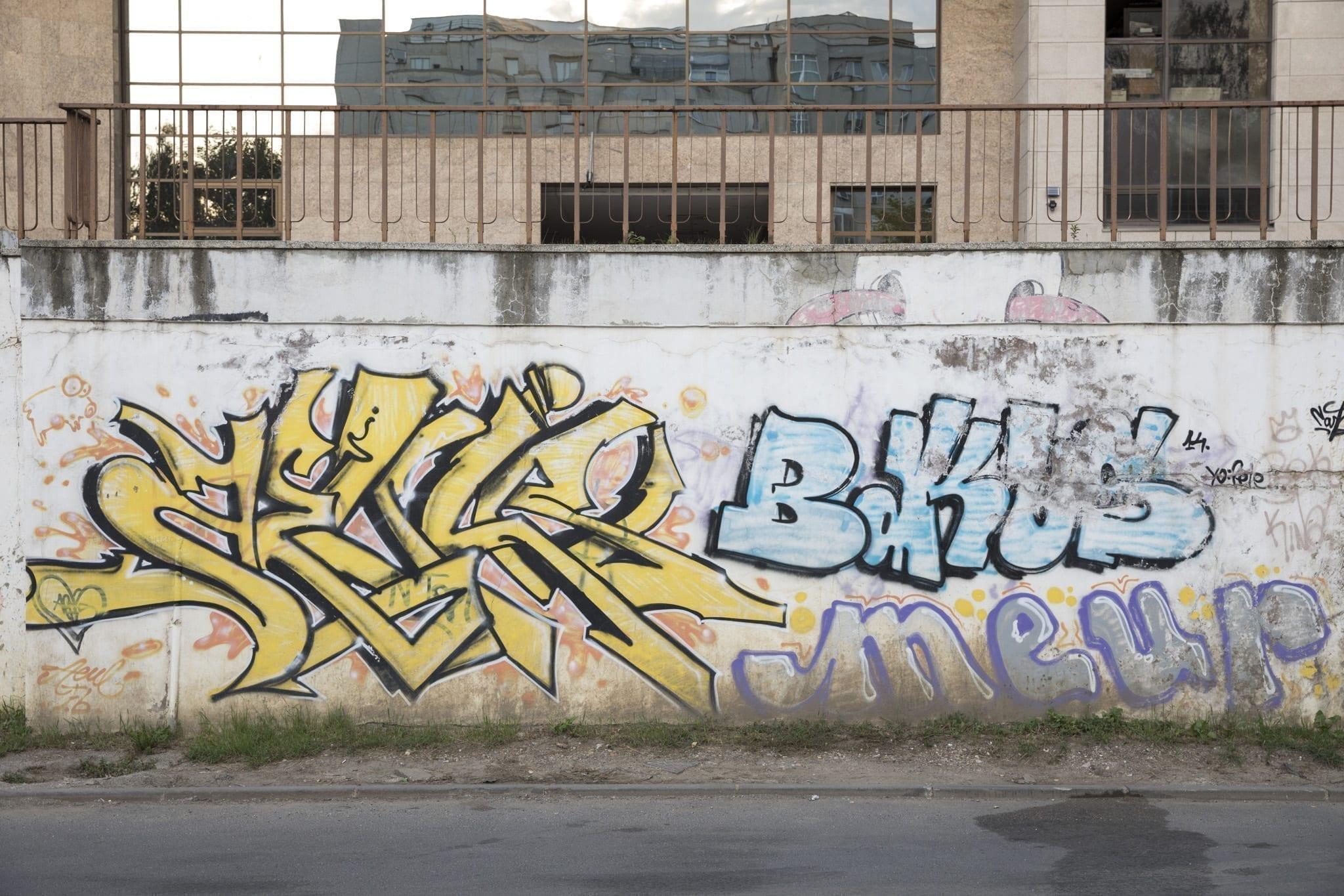 AEUL Strada Gheorghe Șincai Brasov Un-hidden street art in Romania