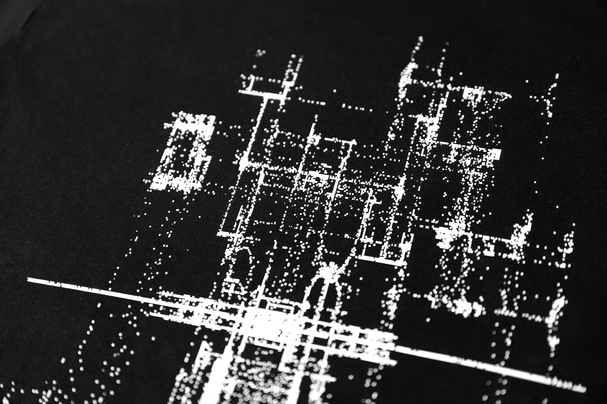 Audio Generated PixelArt Men's T-shirt by Alex Halka for feeder.ro