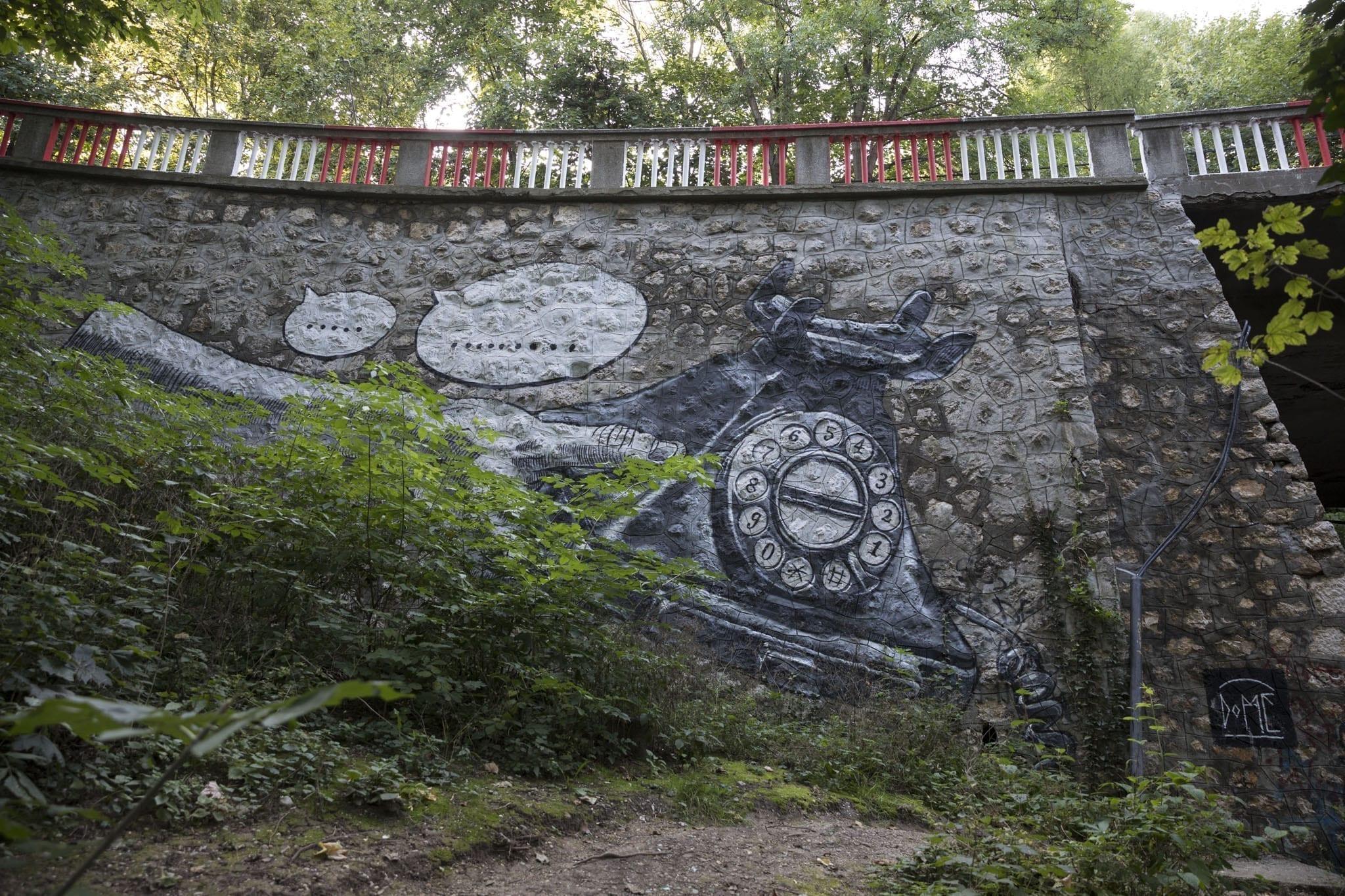 DOME (Germany) / Amural 3 Festival Vizual / 2017 Brasov Un-hidden street art in Romania