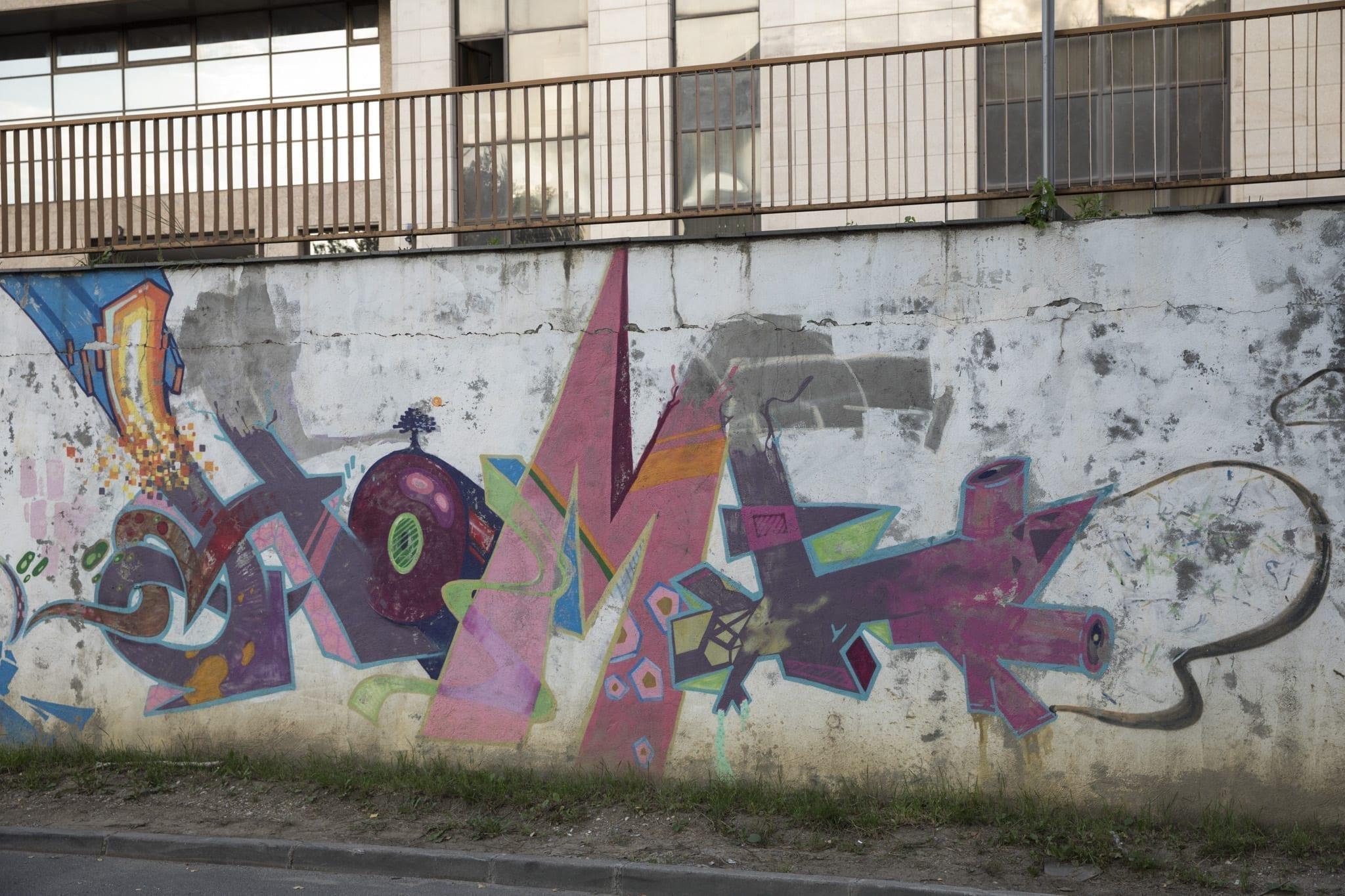 HOMEBOY LDJ Strada Gheorghe Șincai Brasov Un-hidden street art in Romania