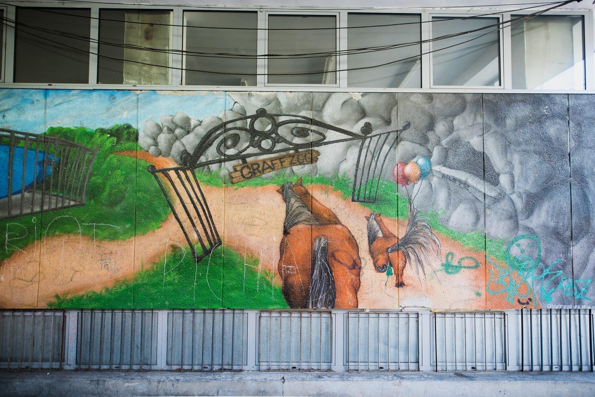 KERO GES STICK ZW Cluj Un-hidden Street Art in Romania book photo © Anita Jimbor, Un-hidden Romania