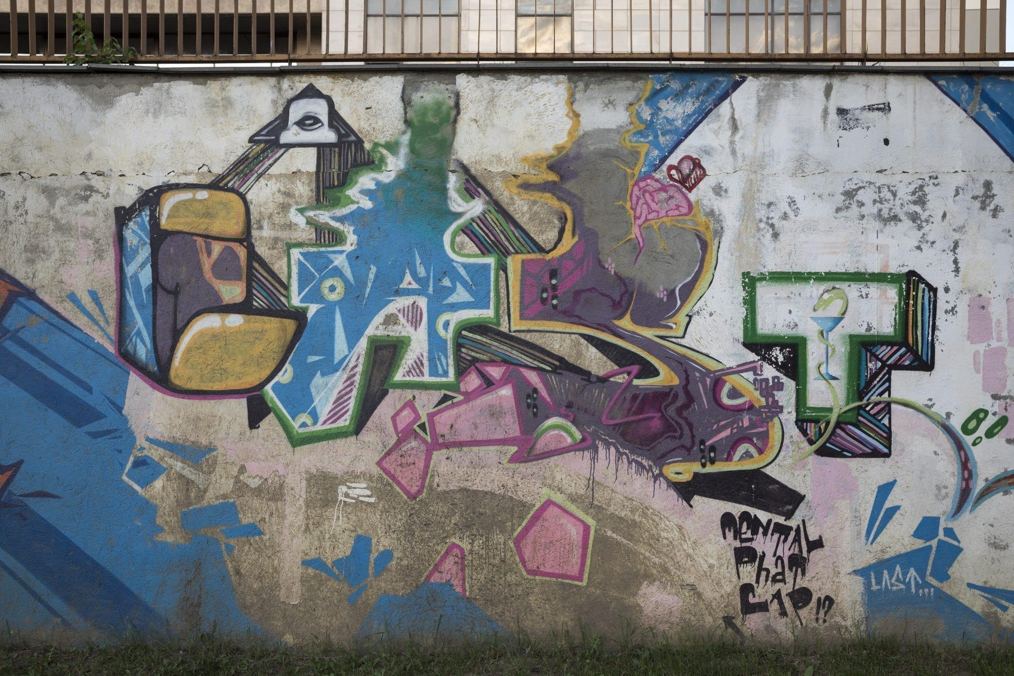 LAST Strada Gheorghe Șincai Brasov Un-hidden street art in Romania
