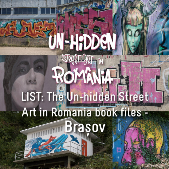 LIST: The Un-hidden Street Art in Romania book files - Brașov