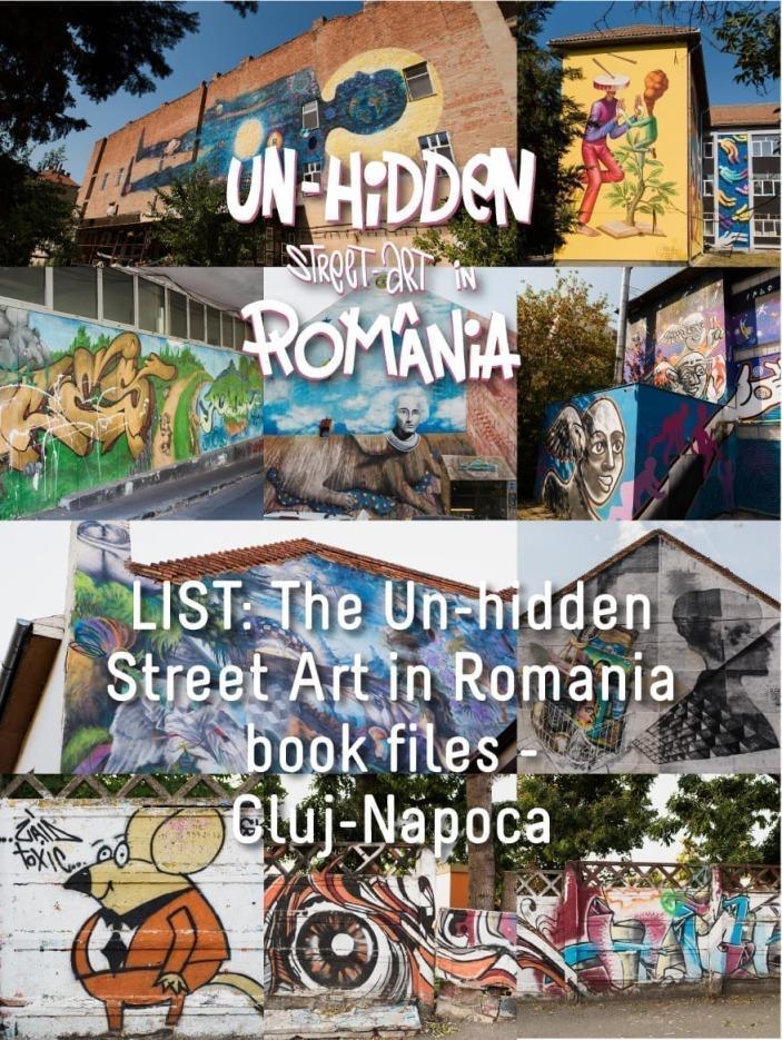 LIST: The Un-hidden Street Art in Romania book files - Cluj-Napoca