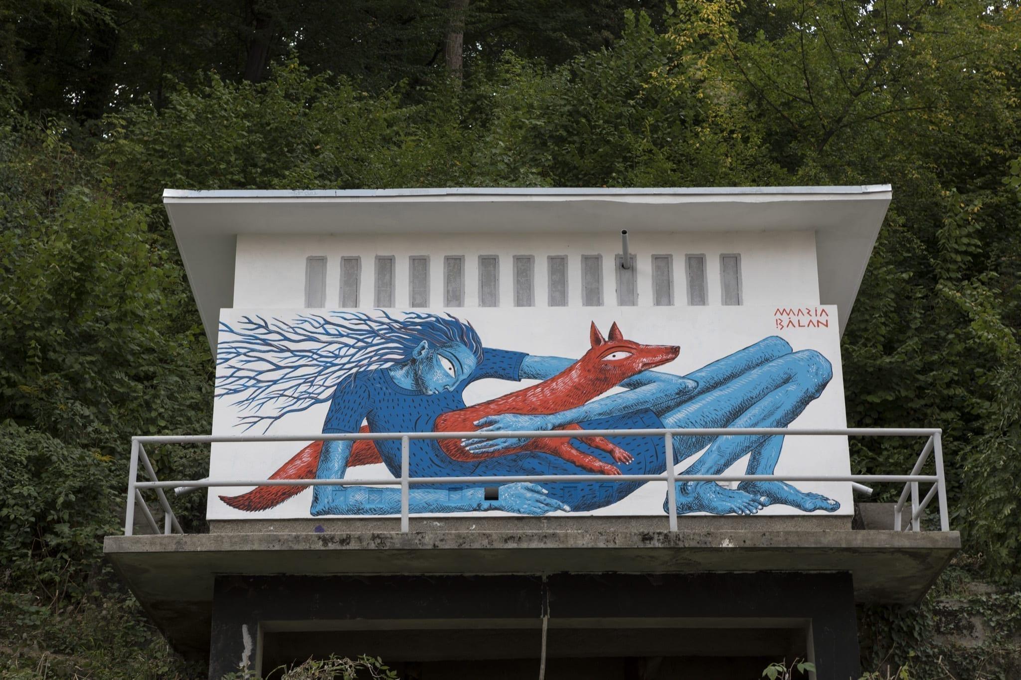 MARIA BĂLAN / AMURAL/ 2019 Brasov Un-hidden street art in Romania