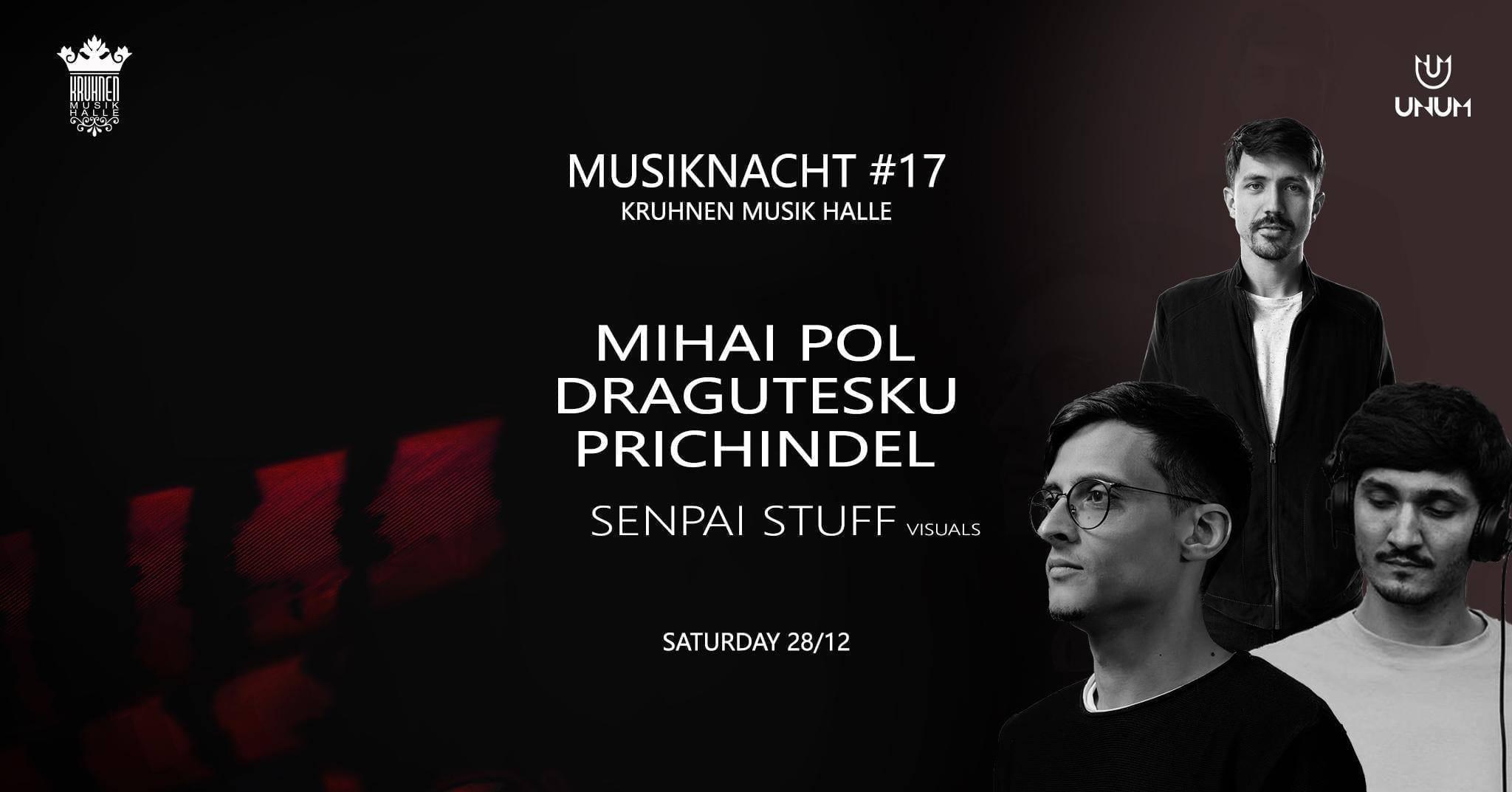 Musiknacht #17: Mihai Pol, Prichindel, Dragutesku